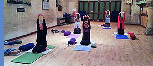 Yoga classes in Westbury Leigh