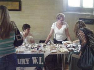 westbury-leigh-village-association-open-day-cake-stall